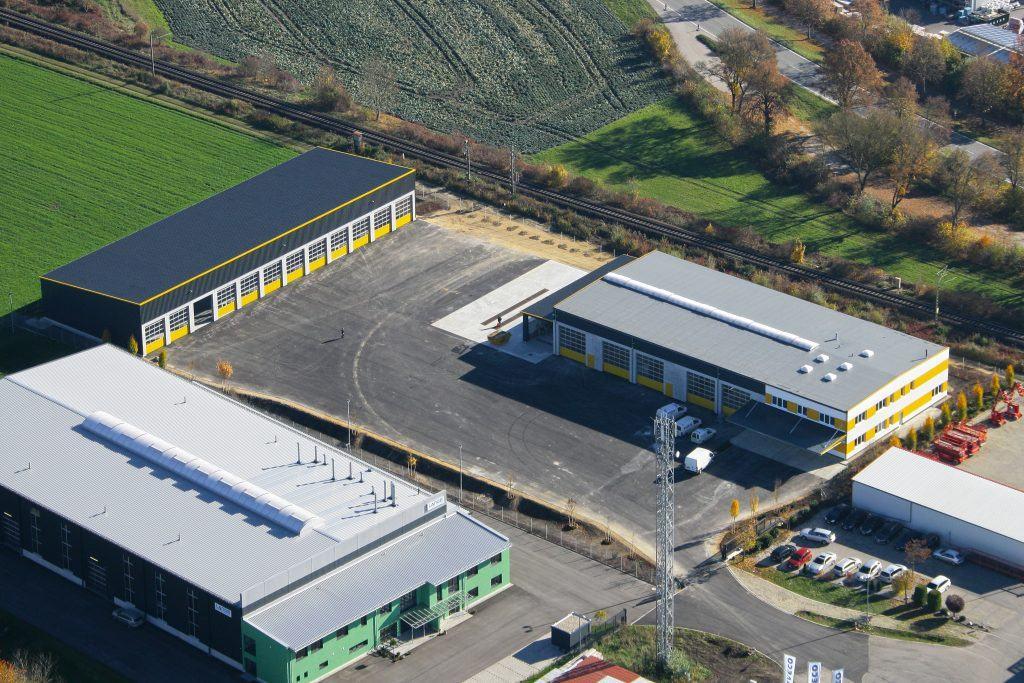 Eine Investion in die Zukunft: der neue Betriebssitz der Firma Kran-Maier GmbH & Co. KG und Lorenz Maier GmbH in Altheim/Essenbach.