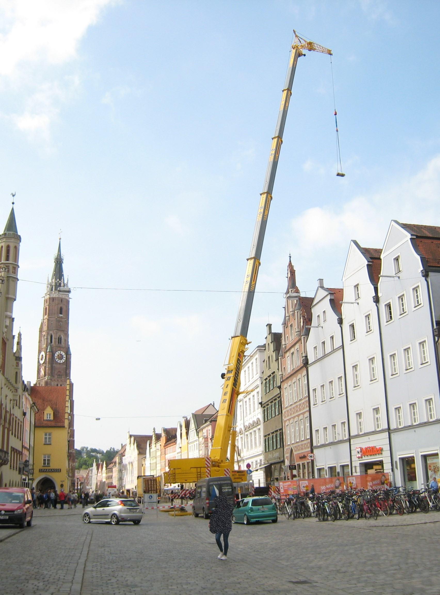 Austausch einer Klimaanlage in der Altstadt Landshut