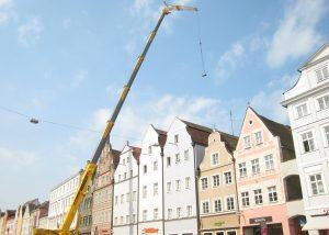 Klimaanlagentausch mit Kran-Maier Landshut